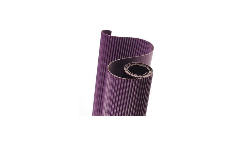 Canson Corrugated Cardboard Paper Roll - 300 GSM, 50 x 70 cm  - Violet