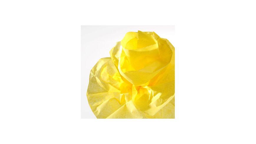 Canson Silk / Tissue Paper Roll - 20 GSM, 50 x 500 cm  - Lemon