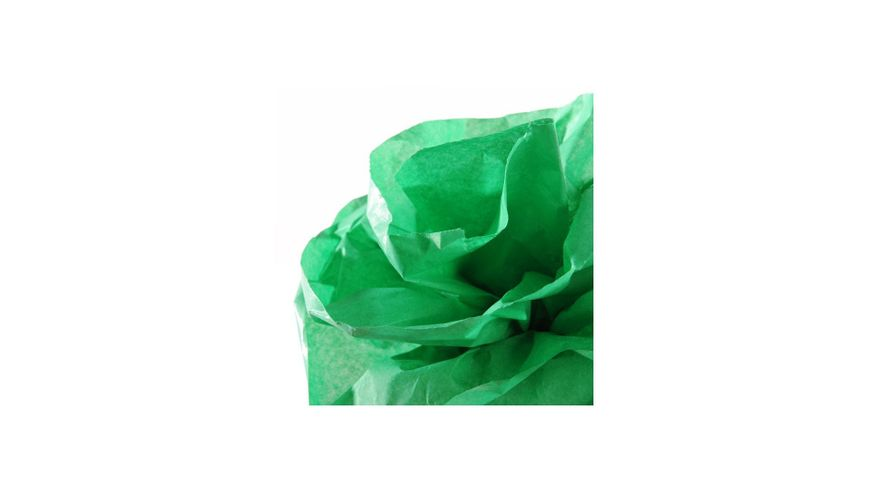 Canson Silk / Tissue Paper Roll - 20 GSM, 50 x 500 cm  - Bright Green