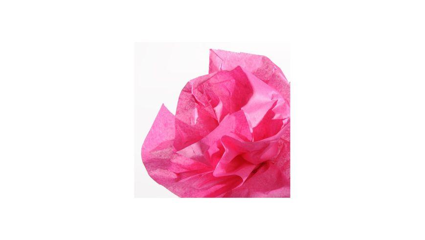 Canson Silk / Tissue Paper Roll - 20 GSM, 50 x 500 cm  - Bonbon Pink
