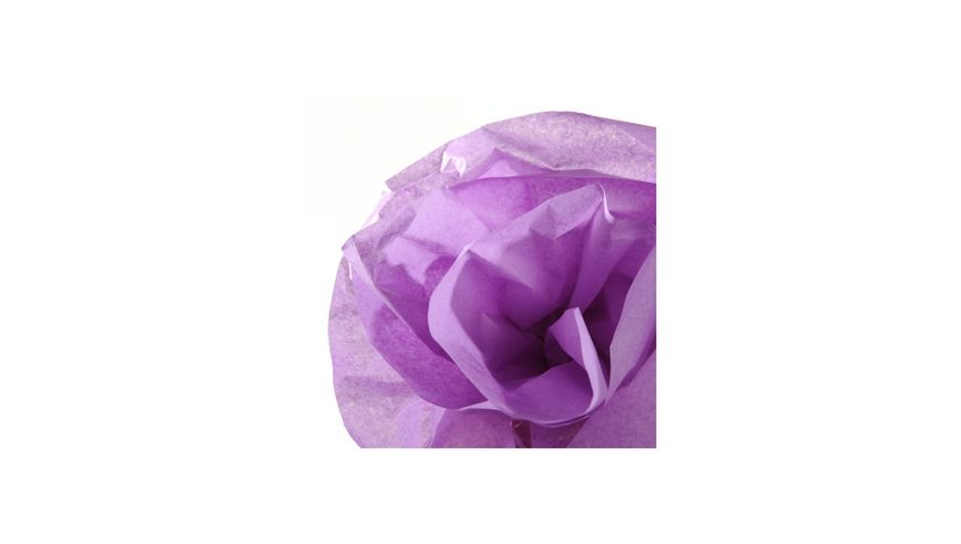 Canson Silk / Tissue Paper Roll - 20 GSM, 50 x 500 cm  - Lilac