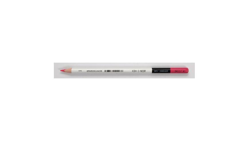 Koh-I-Noor Astra Neon Coloured Pencils - Neon Pink