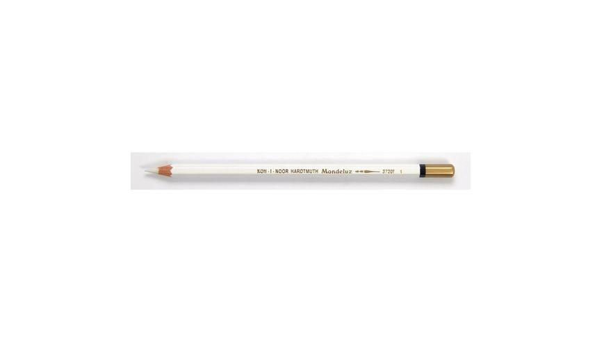 Koh-I-Noor Mondeluz Artist's Water Soluble Coloured Pencil - Titanium White