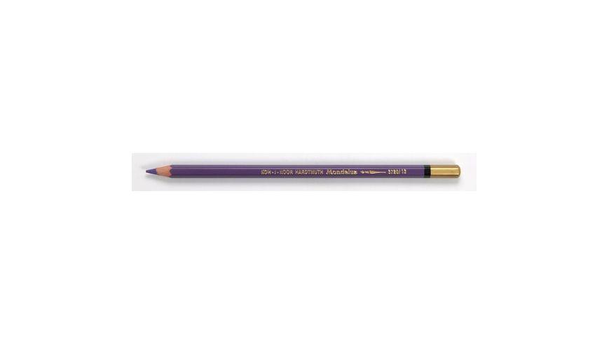 Koh-I-Noor Mondeluz Artist's Water Soluble Coloured Pencil - Lavender Violet