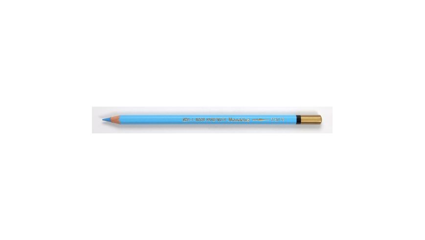 Koh-I-Noor Mondeluz Artist's Water Soluble Coloured Pencil - Cerulean Blue