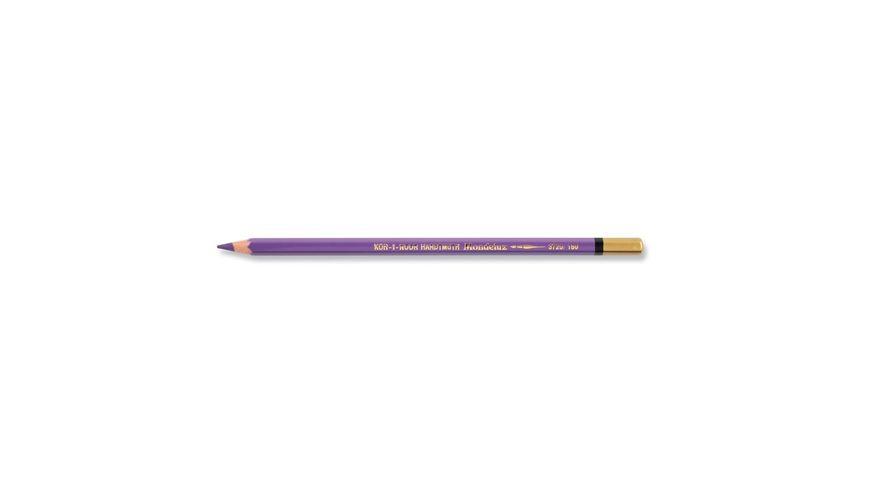 Koh-I-Noor Mondeluz Artist's Water Soluble Coloured Pencil - Lavender Violet Dark