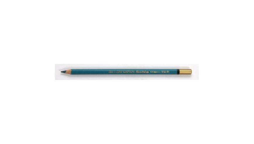 Koh-I-Noor Mondeluz Artist's Water Soluble Coloured Pencil - Bluish Green