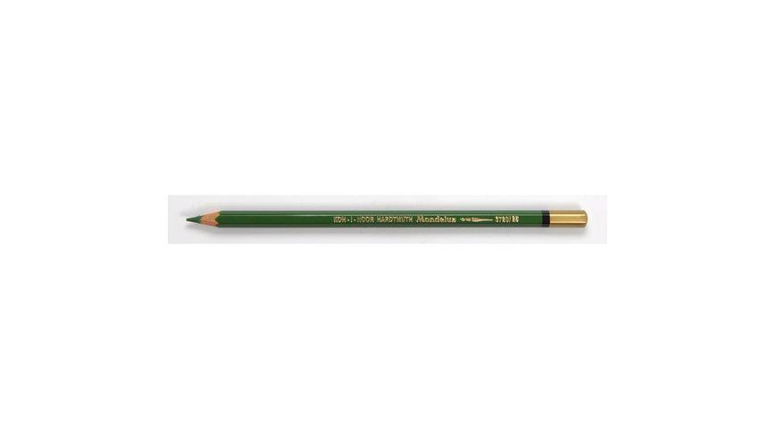 Koh-I-Noor Mondeluz Artist's Water Soluble Coloured Pencil - Meadow Green