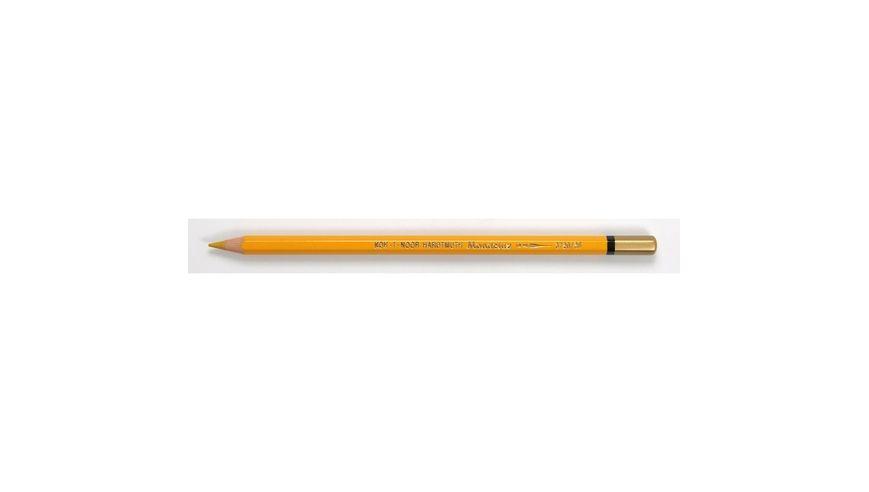 Koh-I-Noor Mondeluz Artist's Water Soluble Coloured Pencil - Gold Ochre