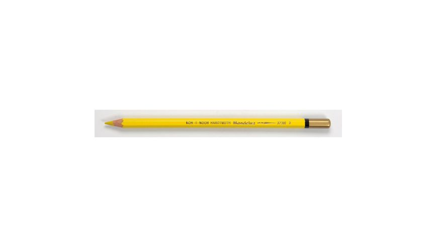 Koh-I-Noor Mondeluz Artist's Water Soluble Coloured Pencil - Chrome Yellow