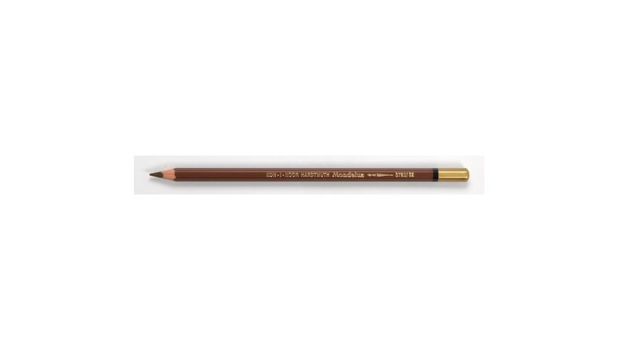 Koh-I-Noor Mondeluz Artist's Water Soluble Coloured Pencil - Natural Sienna