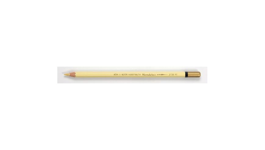 Koh-I-Noor Mondeluz Artist's Water Soluble Coloured Pencil - Banana Yellow