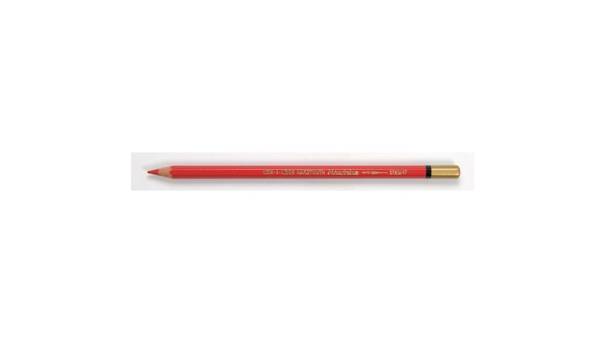 Koh-I-Noor Mondeluz Artist's Water Soluble Coloured Pencil - Scarlet Red