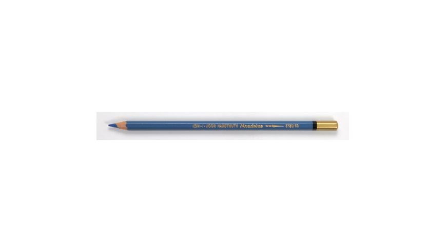 Koh-I-Noor Mondeluz Artist's Water Soluble Coloured Pencil - Phthalo Blue