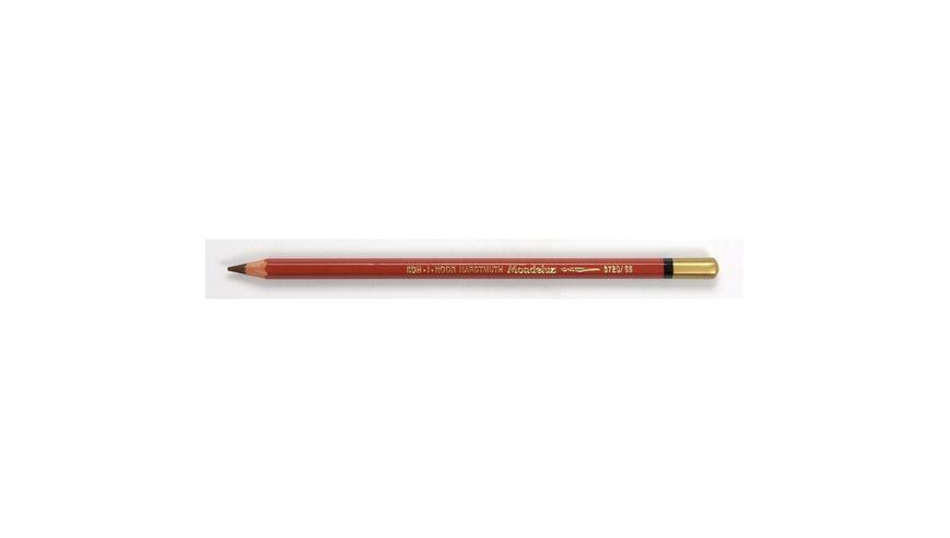 Koh-I-Noor Mondeluz Artist's Water Soluble Coloured Pencil - Medium Terracotta