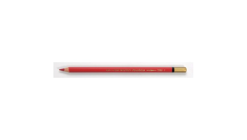 Koh-I-Noor Mondeluz Artist's Water Soluble Coloured Pencil - Carmine Red