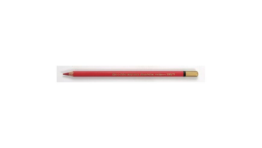 Koh-I-Noor Mondeluz Artist's Water Soluble Coloured Pencil - Carmine Red Light