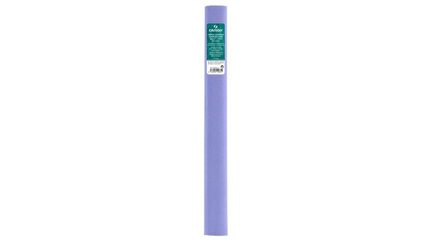 Canson Superior Crepe Paper Roll - 48 GSM, 50 x 250 cm  - Blue