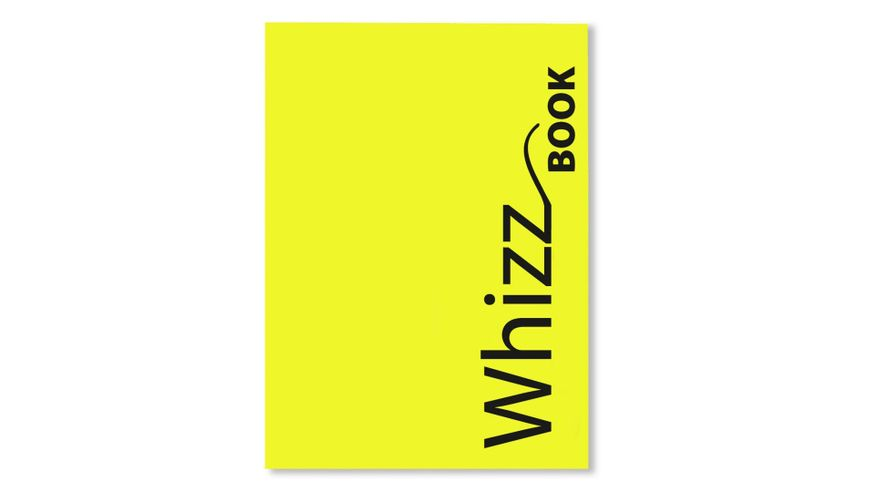 Canson Whizz Book 80 GSM A4 Art Book of 136 Fine Grain Sheets - Yellow Cover