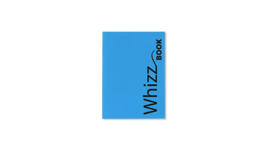 Canson Whizz Book 80 GSM A5 Art Book of 136 Fine Grain Sheets - Blue Cover