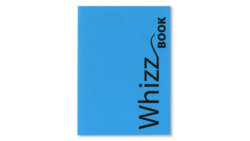 Canson Whizz Book 80 GSM A4 Art Book of 136 Fine Grain Sheets - Blue Cover