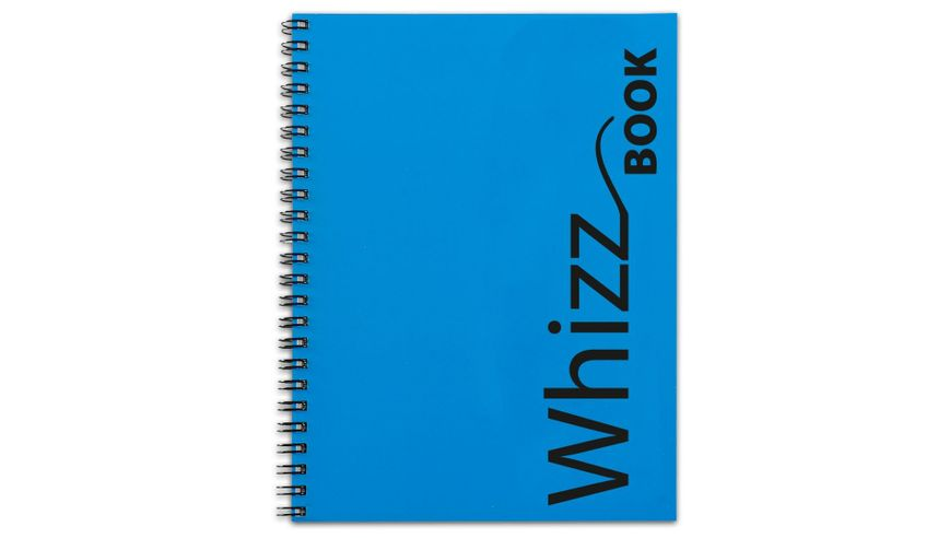 Canson Whizz Book 80 GSM A4 Art Book of 136 Fine Grain Sheets - Blue Spiral Cover
