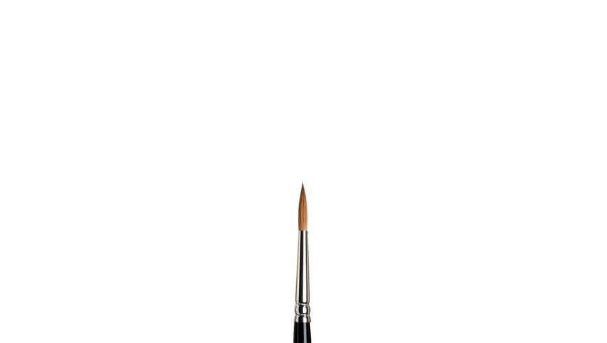 Winsor & Newton Series 7 Kolinsky Sable Hair Brush - Round Pointed - Short Handle - Size: 4
