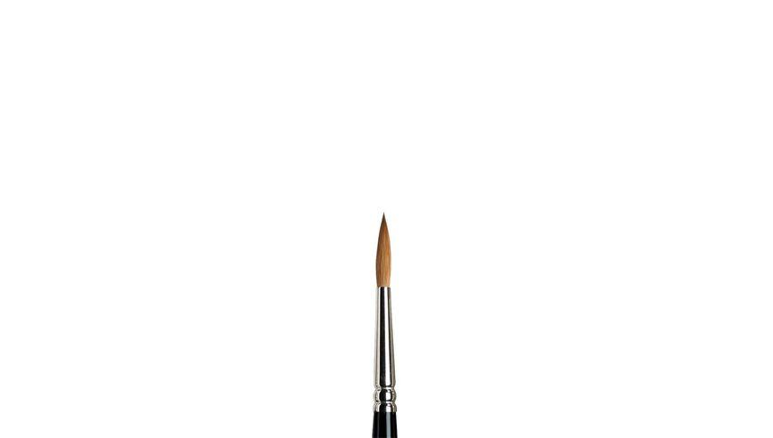 Winsor & Newton Series 7 Kolinsky Sable Hair Brush - Round Pointed - Short Handle - Size: 5