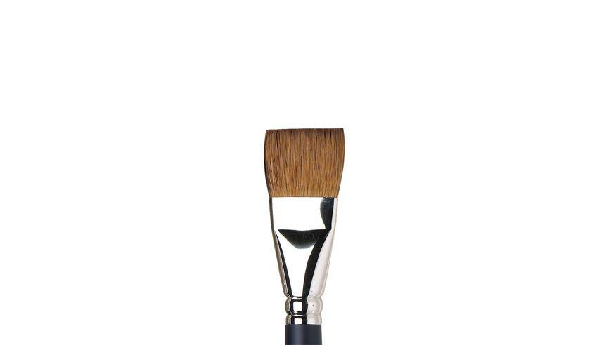 Winsor & Newton Artist's Water Colour Kolinsky Sable Hair Brush - One Stroke - Short Handle - Size: 1