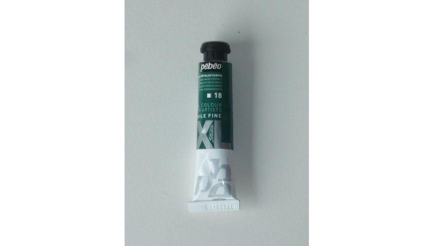 Pebeo XL Fine Oil 20 ML Phthalocyanine Emerald 18