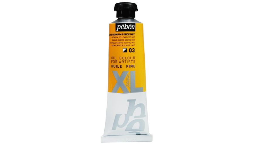 Pebeo XL Fine Oil 37 ML Cadmium Yellow Deep Hue 03