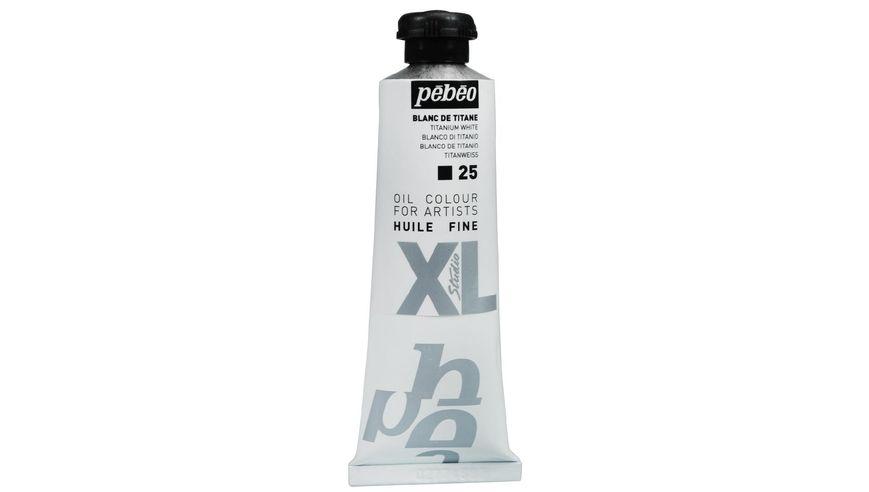Pebeo XL Fine Oil 37 ML Titanium White 25