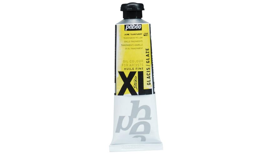 Pebeo XL Fine Oil 37 ML Glaze Yellow 401