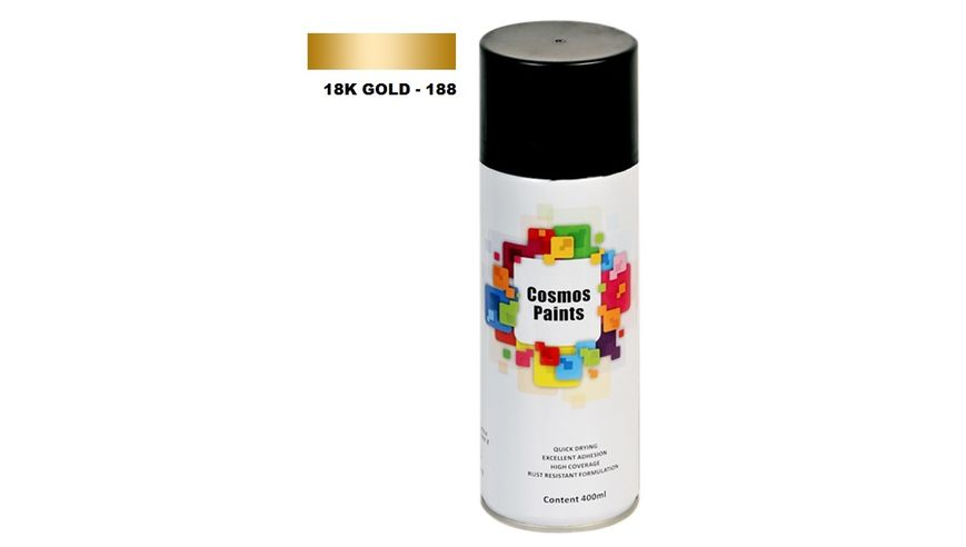 Cosmos Paints Spray Can - 18K Gold