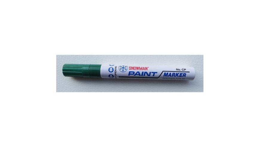 Snowman Oil Based Paint Marker - Dark Green - Medium Tip