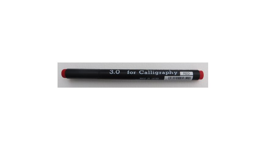 Snowman Calligraphy Pens - Red - 3.0