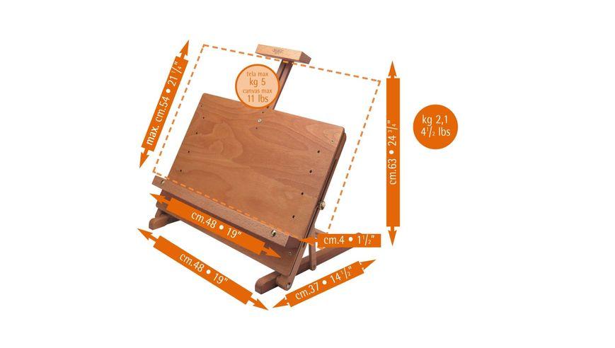 MABEF Beech Wood Display Table Easel