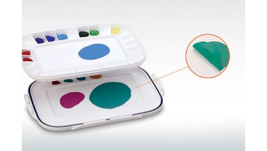 Mijello - Acrylic Peel-off Colour Palettes - Artelier Airtight