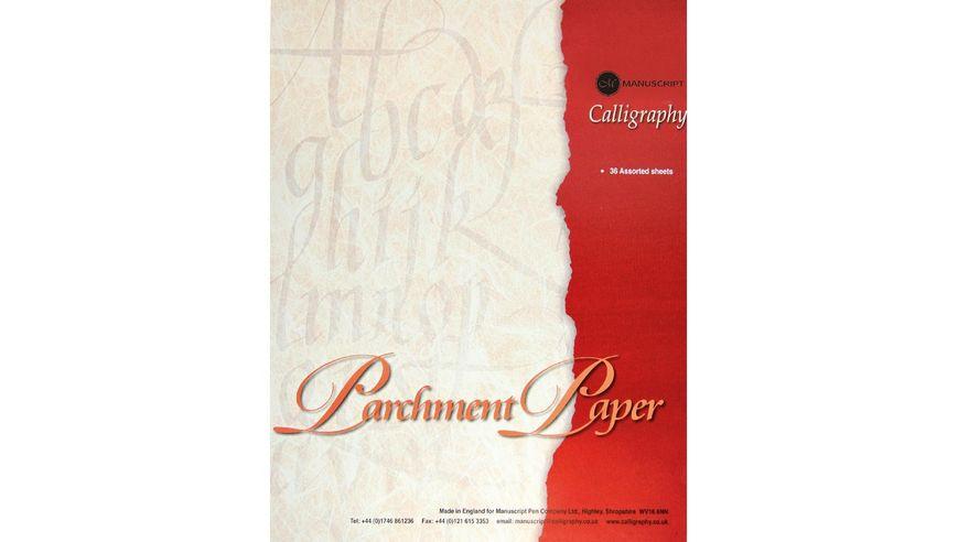 Manuscript Parchment Paper Pad