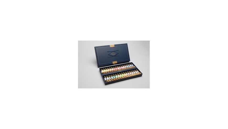 Mission Gold Professional Grade Extra-Fine Watercolour Set - 15 ML X 34 Tubes
