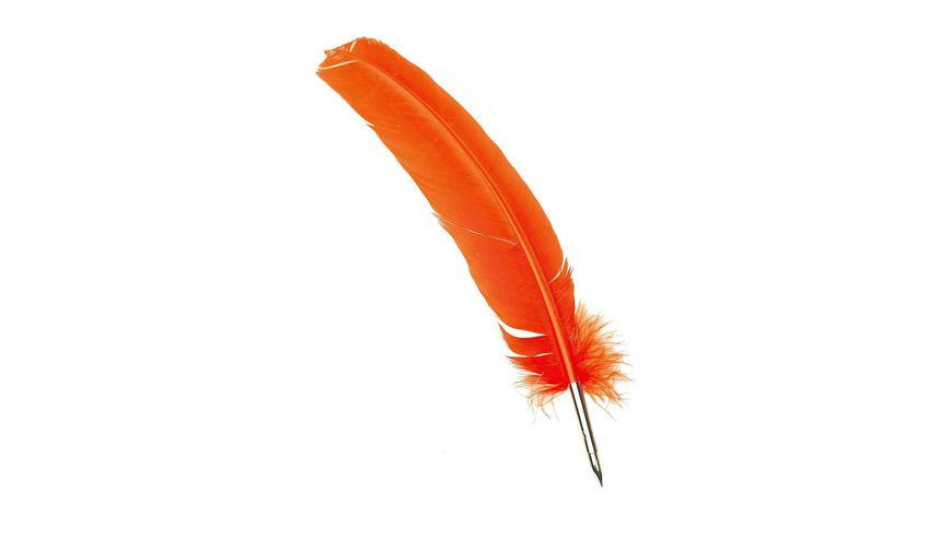 Manuscript Quill Pen - Orange