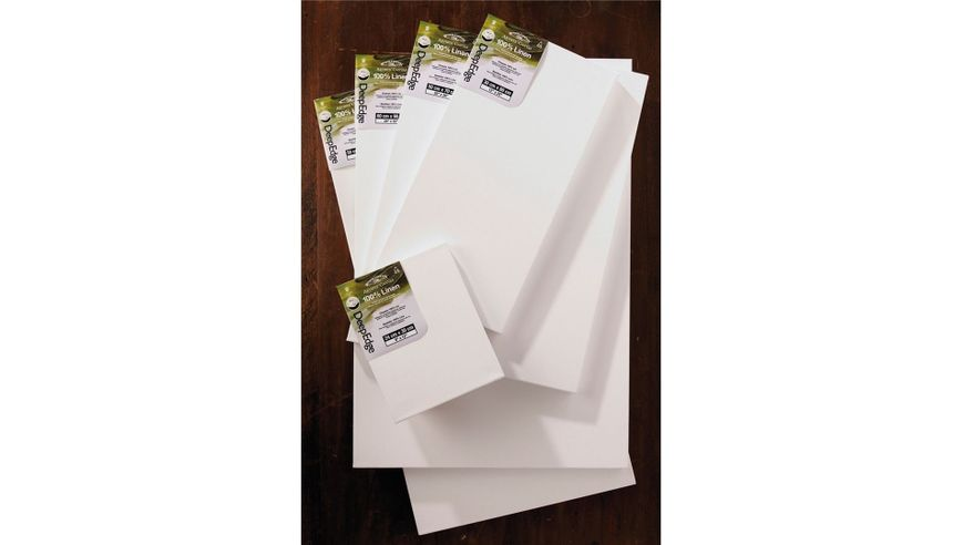 Winsor & Newton Artist's Deep Edge Stretched Linen Canvas - 30 x 48 inches