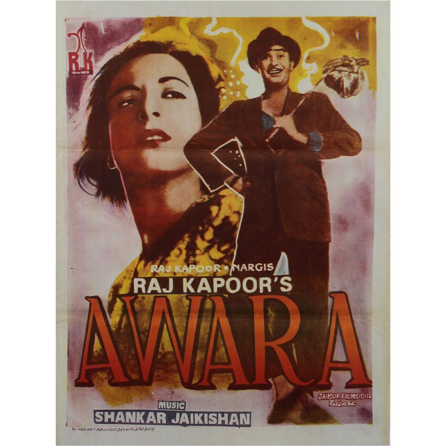 Awaara  Bollywood Movie Posters Vintage Classic /& Indian Films