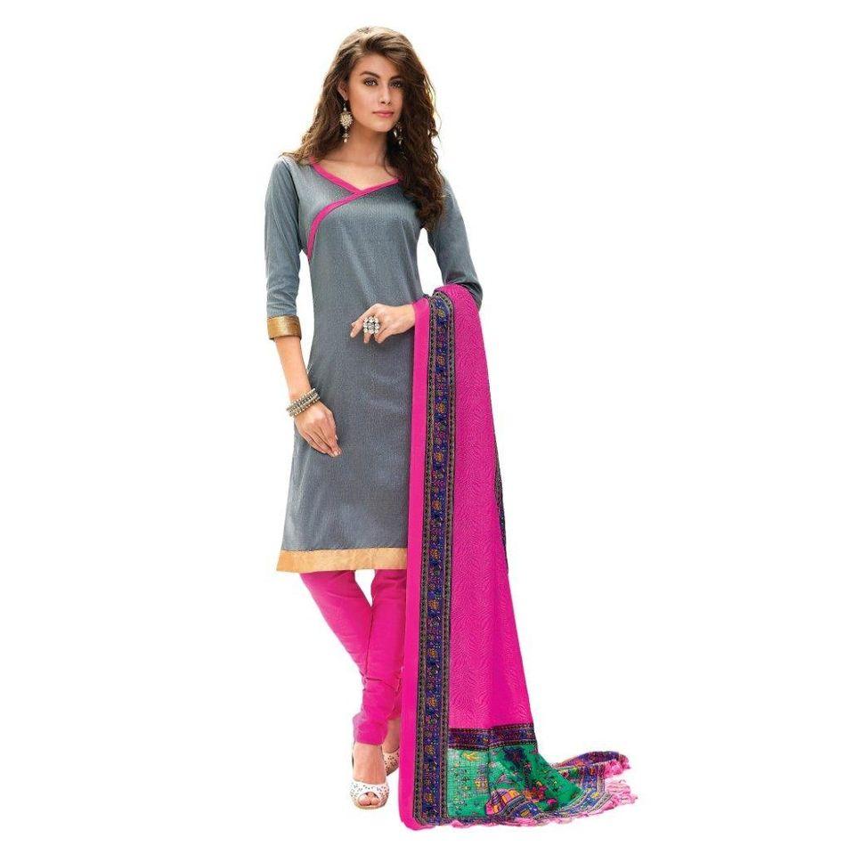 Desinger   Printed  Suit Dress Material