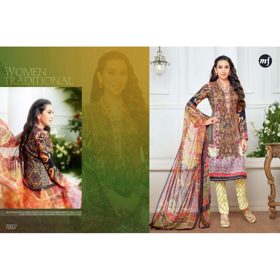 Winter Collection -Pashmina Digital Print Suits