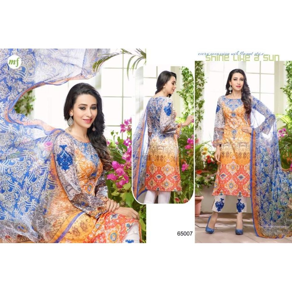 Cotton Digital Pakistani Print Suits