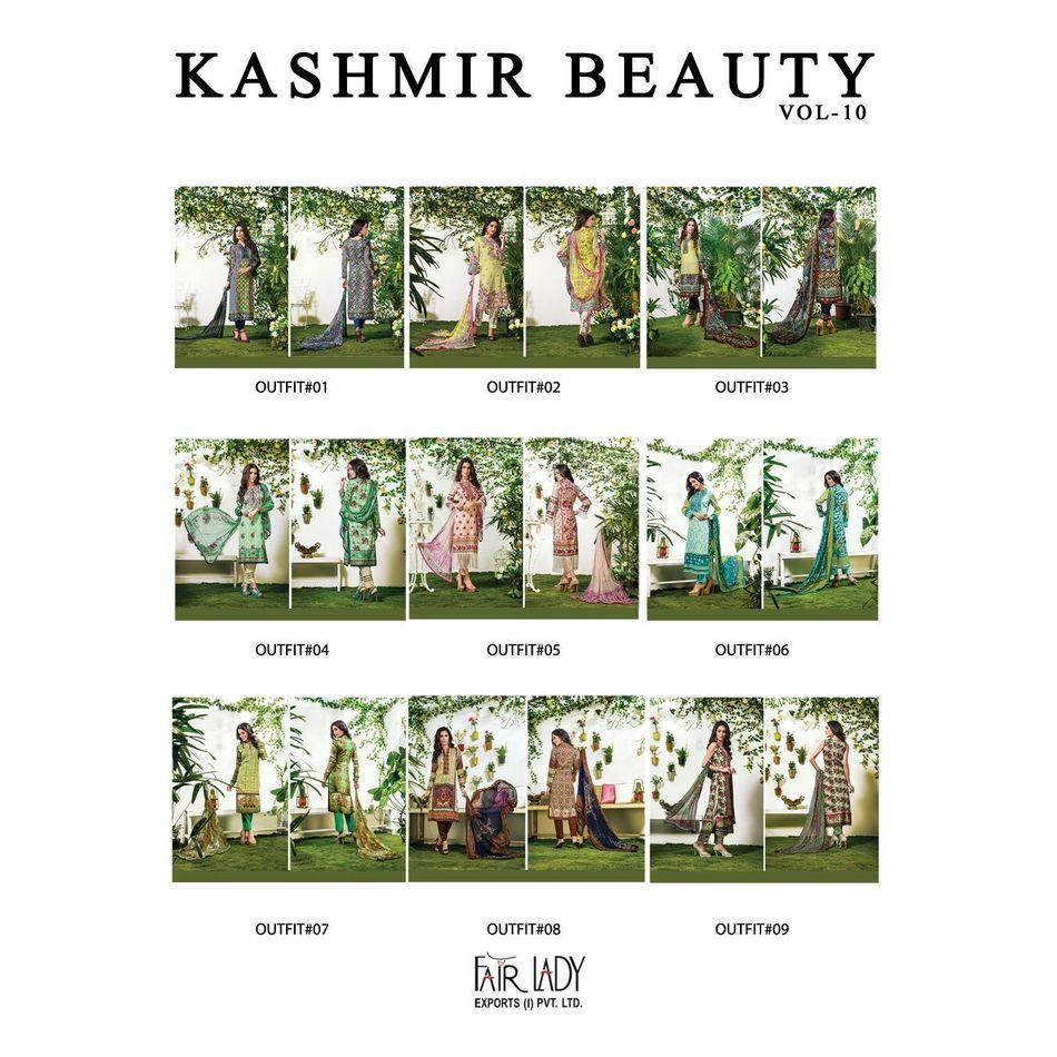 Kashmir Beauty Full Catalog 9 Designs