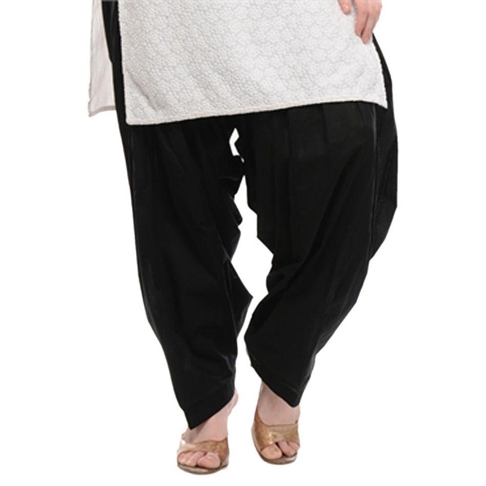 Patiala Shahi Salwar - Black Colour