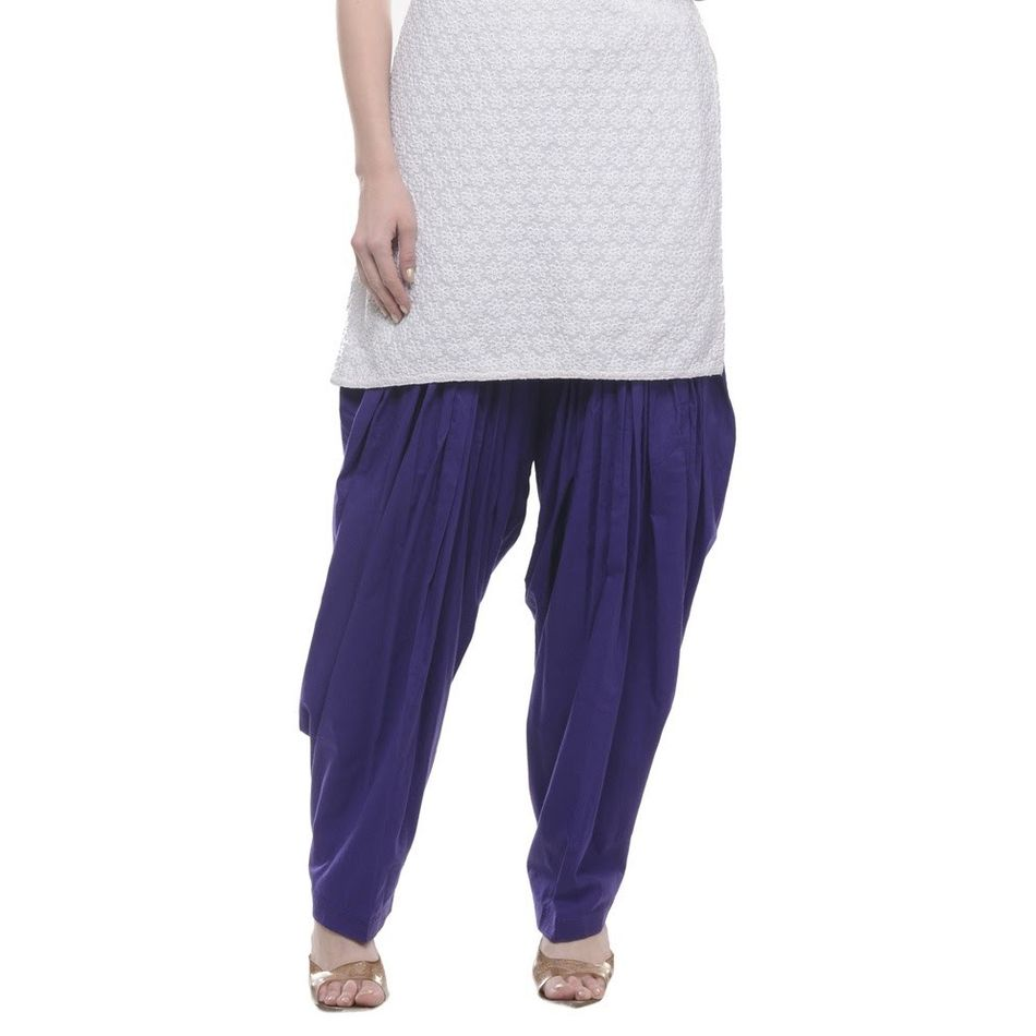 Patiala Shahi Salwar - Blue Colour