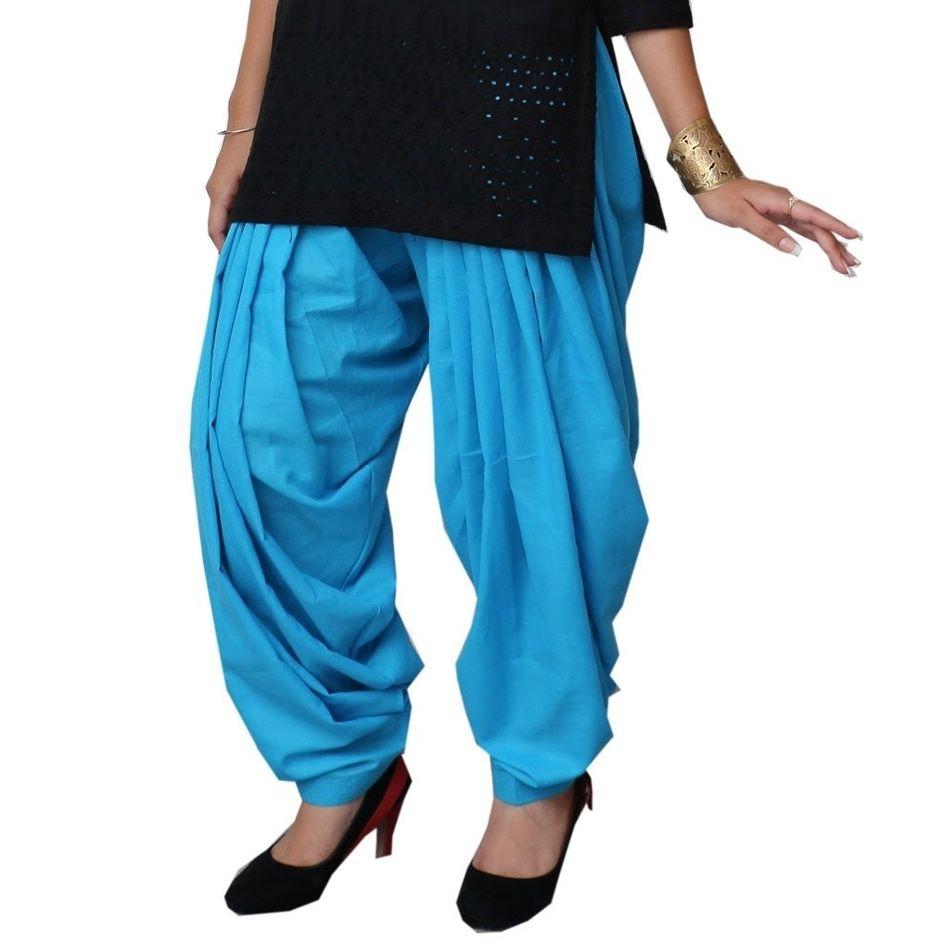 Patiala Shahi Salwar - Sky Blue Colour